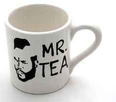 Mr. Tea Mug par LennyMud sur Etsy
