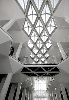 McGregor Memorial Conference Center | Minoru Yamasaki