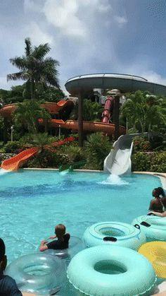 This waterslide looks deadly.