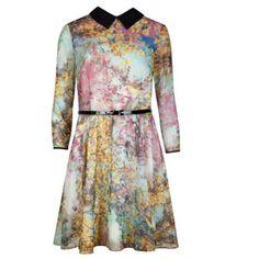 EPONI Pretty trees print dress (http://www.tedbaker.com/uk/Womens/Clothing/Dresses/EPONI-Pretty-trees-print-dress-Dusky-Pink/p/111998-51-DUSKY-PINK)