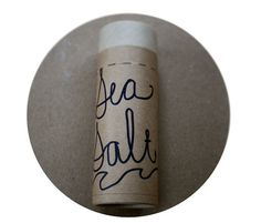 organic deodorant / Sea Salt coconut oil non-toxic  by mountainess