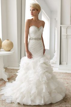 pnina tornai mermaid wedding dress - Google Search