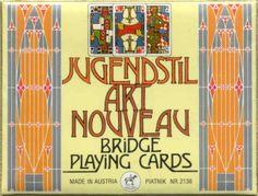 Jugendstil_Art_Nouveau_Playing_Cards_Box