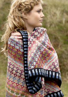 Knitting kits by Christel Seyfarth Shawl knit kits