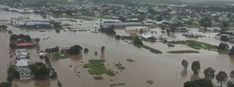 Major flooding hits Queensland, comparable to 2009 flood event