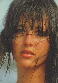 Sophie Marceau (French actress since 1980 La Boum) (b. 1966 Nov 17) depicted Boum teen • also author/screenwriter/director • starred in Braveheart (1995) + Firelight (1997) + The World Is Not Enough (1999) • proof of the American, hm, French Dream: sublime beauty & career born from shop assistant mother Simone & truck driver dad Benoît Maupu, divorced when 9–could've easily fallen into depression as actress/singer Isabelle Adjani (b. 1955) • married to Christopher Lambert! 2012