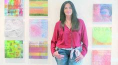 María Fernanda Lairet eleva los billetes a piezas de arte