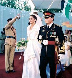 Abdalá II y Rania de Jordania