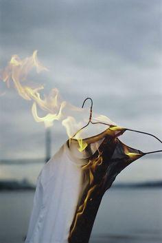 Burning tshirt that inspired my DIY http://www.tayloranddemolish.com/2011/11/diy-half-half-distressed-tshirt.html#