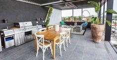 Alisa and Lysandra's Outdoor Terrace! #TheBlock