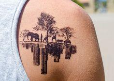 Nouvelle #Collection de #Tatouages #éphémères pour #Homme sur www.les-esthetes.com