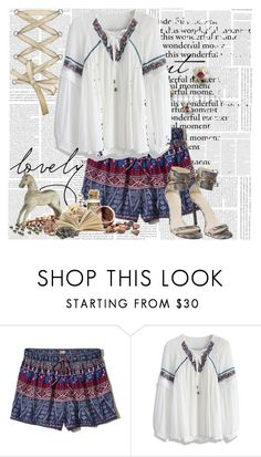 """""""A Warm Spring Day Outfit 2017"""" by tvshowobsessed ❤ liked on Polyvore featuring Hollister Co., Chicwish and Gucci"""