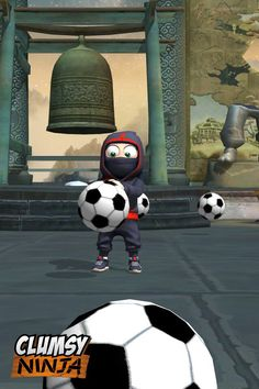 My Clumsy Ninja also on the hype for FiFA world cup 2014