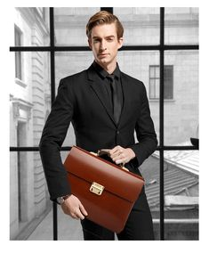 Aliexpress.com : Buy YINTE Leather Men's Briefcase Leather Business Bag Men's Laptop Bag Lawyer Handbag Document Thicker Men Totes Portfolio T8191 6 from Reliable briefcase business suppliers on YIN TE Official Store