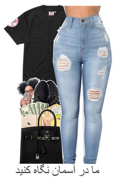 """""""Thursday """" by baaaditori ❤ liked on Polyvore featuring Supreme                                                                                                                                                                                 More"""