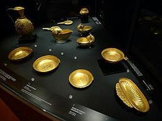 On July a significant hoard of twenty-three early medieval gold vessels was found in an iron chest by Neru Vuin, a Serb farmer, near the small Hungarian town of Nagy Szent-Miklós in northern Banat, in total weighing kg. European Tribes, European Languages, Christopher Dawson, Golden Bowl, Mystery Photos, Eurasian Steppe, Medieval, Cultura General, Brand Design