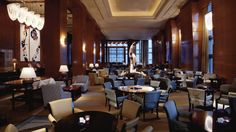 One of my favorite stay in Tokyo  Enjoy afternoon tea in the Lobby Lounge and experience a timehonored tradition Ritz‐Carlton style.