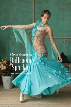 170f51b02419 25 Best American Smooth gowns images in 2019 | Ballrooms, Ballroom ...