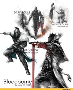 Bearer of the curse, DSII characters, Dark Souls 2, Dark Souls, fandoms, Chosen Undead, DS characters, Hunter (Bloodborne), BloodBorne, Games, DS art, Game art, game art, Demon Souls