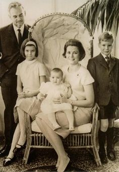 Grace Kelly ✾ and family