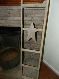 These absolutely awesome tobacco stick ladders feature a cedar star and were created by a local Kentucky artist.  Now available at Spellbound, please check out out FB page @ www.facebook.com/DoodlePawDesigns