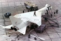 during engine run preparations Military Jets, Military Aircraft, Airplane History, Hms Ark Royal, War Jet, Experimental Aircraft, Aviation Industry, Aircraft Design, Jet Plane