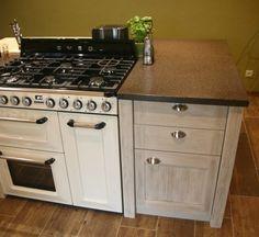 Piano de cuisson intégré dans l'ilot