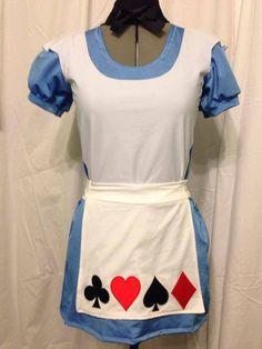 Alice inspired running costume on Etsy, $145.00