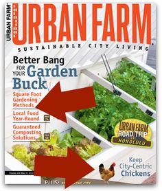 One-year subscription to Urban Farm magazine for $8.99 - Money Saving Mom®