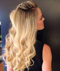 penteados com trancas para madrinhas cabelo solto