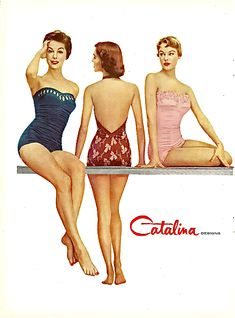 9777d416a6 56 Best Catalina swimwear images in 2019 | Vintage swimsuits ...