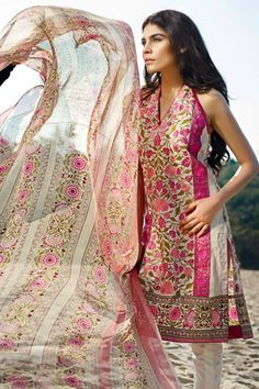 Photos Slideshow - Sana Safinaz 2015 Lawn Collection
