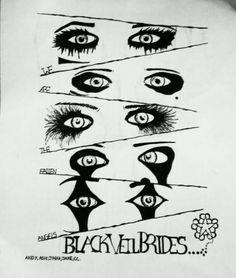 Who needs a black veil when you have eyes like these?