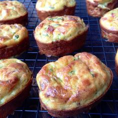 Savoury Zucchini And Bacon Muffins - used corn beef instead, stuck to tins - use liner!