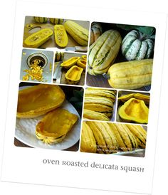 squash...I love this and usually combine butternut and acorn squash together.
