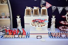 Love this Nautical Party