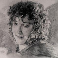 Artist: Moriah Q. Age 12. Frodo
