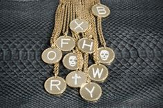 Word Glam #collection #rebecca #necklace