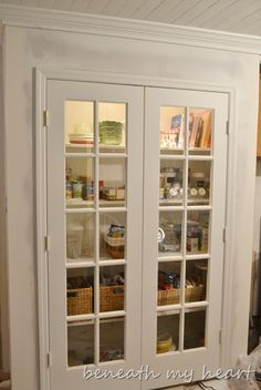 Pantry closet remodel french doors 60 new Ideas French Country Rug, French Country Living Room, French Country Decorating, French Patio, Modern Country, Pantry Closet, Kitchen Pantry, Kitchen Reno, Tiny Pantry