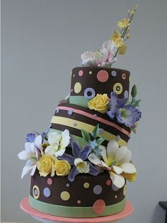 Do you want to make a cake like this? If you use the Topsy Turvy Cake Pans you can!