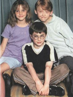Harry Potter - Ron Weasley - Hermione Granger