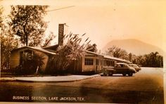 Business Section back in the Day - Lake Jackson, Texas. Lake Jackson Texas, Brazoria County, Galveston, Back In The Day, Old Town, Memories, History, Business, Places