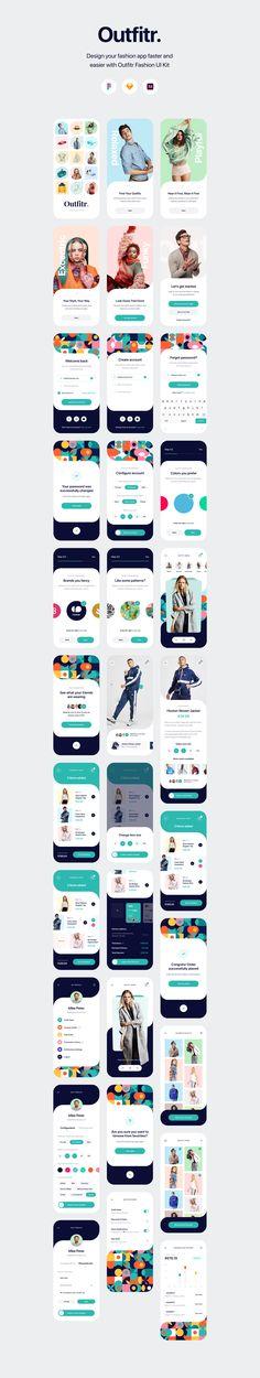 App Design, Game Ui Design, Dashboard Design, Mobile Design, Clothing Apps, Web Design Examples, User Interface Design, Interface App, Ui Design Inspiration