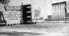 Bel-Air Twin Drive-In.  The First Drive In Theater in Detroit, located on 8 mile Road. 1950-51