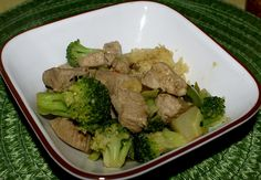 Taste of the Orient in Broccoli Pork Stir Fry | Skinny Girl Bistro