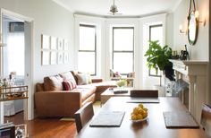 Homepolish Designs a Tiny Apartment on Manhattan's Upper West Side | Rue