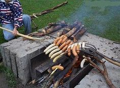 pitchfork skewers