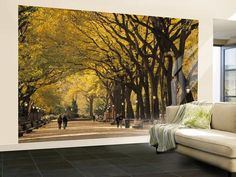 Giant Wall Murals | ... York City, Ny, USA Wall Mural – Large by Walter Bibikow at Art.co.uk