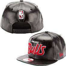 New Era Chicago Bulls Script Snapback Hat - NBAStore.com New Era Snapback 8d19fe1efb8