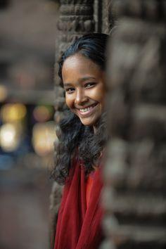 Tamang Girl - Kathmandu, Nepal